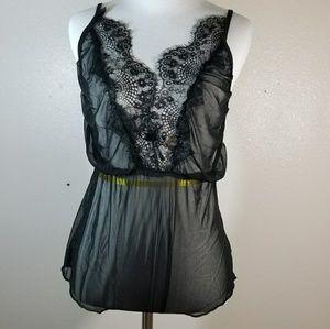 Intimates & Sleepwear - Sheer Black Lingerie